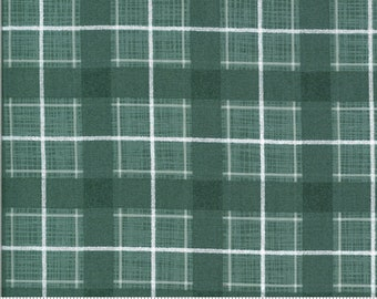 Plaid - BRUSHED Cotton in Juniper from the Juniper Collection by Moda Fabrics