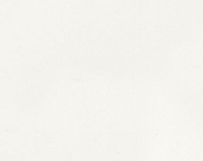 WHITE Kona Cotton by Robert Kaufman