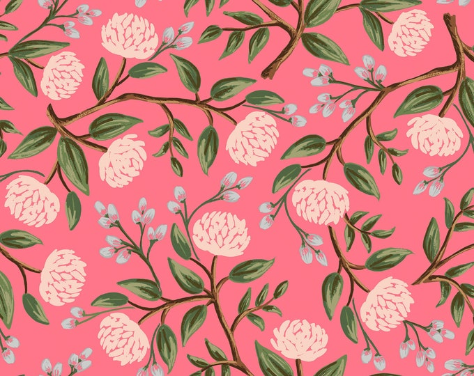 PRESALE: Peonies in Pink for Wildwood Collection by Rifle Paper Co.