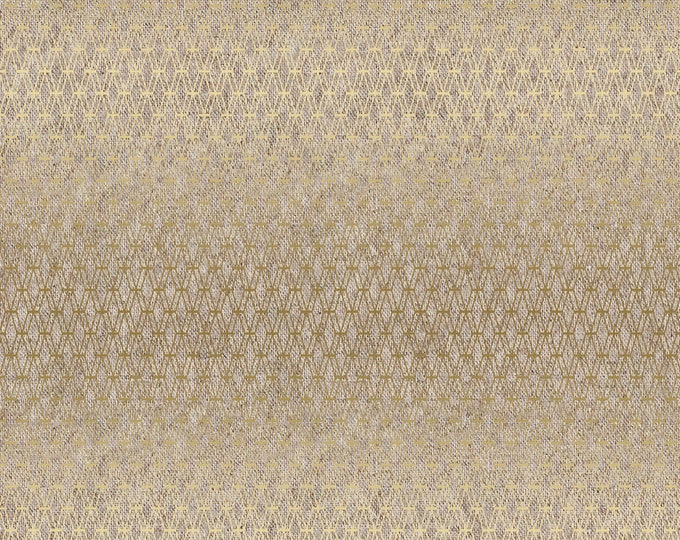 Mishmesh Canvas in Goldie Metallic for Cotton + Steel Basics