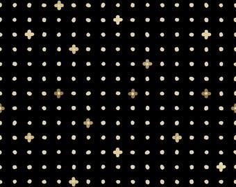Ohanadotto in Black (Metallic) for  the Nori + Tori Collection by Cotton + Steel