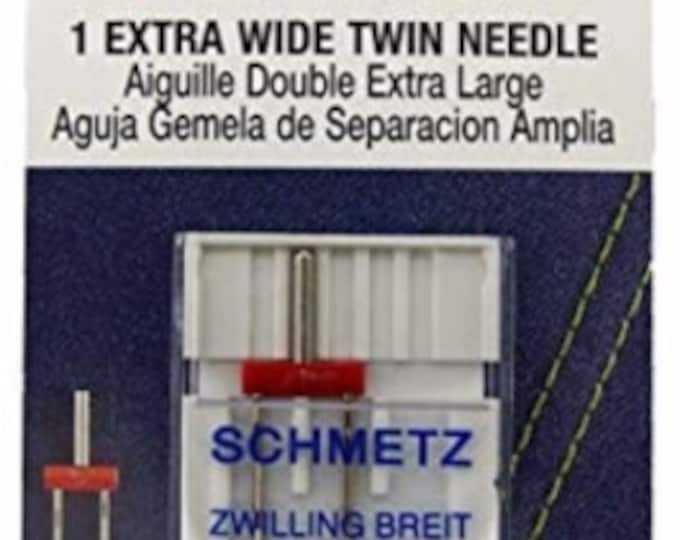 Schmetz - Extrawide Twin Needle 80/100 - Machine Needle