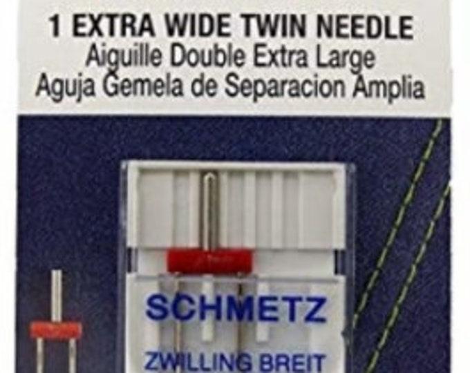 Schmetz - Extrawide Twin Needle 80/100 - Machine Needle