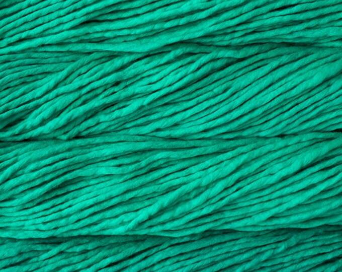 Rasta in Bahamas Green by Malabrigo - 100% Merino Super Bulky Wool