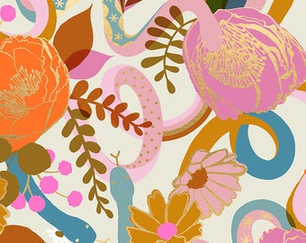 Dream in Shell from the Rise Collection by Melody Miller for Ruby Star Society by Moda Fabrics