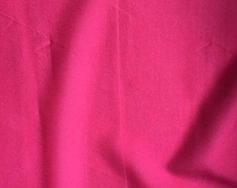 Hot Pink Silk/Lycra Blend