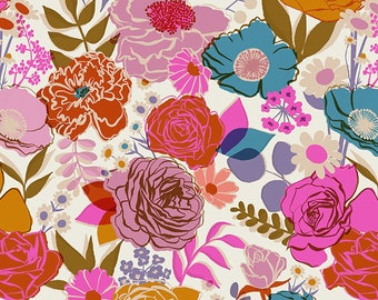 """Bloom 108"""" Wideback in Shell from the Rise Collection by Melody Miller for Ruby Star Society by Moda Fabrics"""