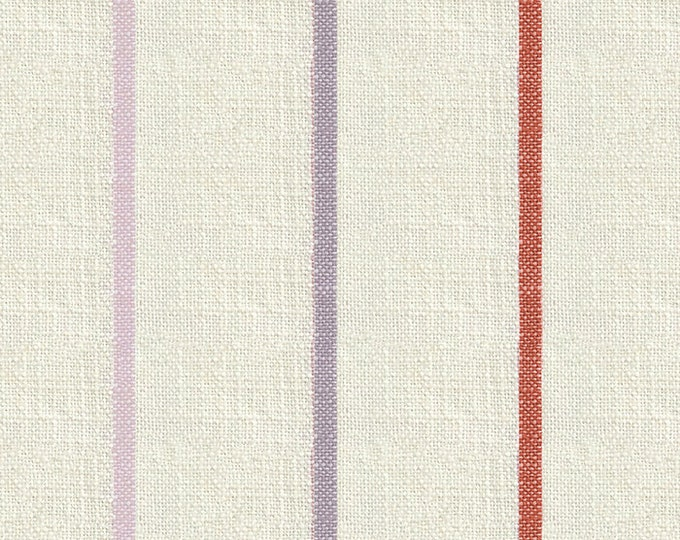 Chore Coat Stripe in Sunset from the Warp & Weft Heirloom Wovens Collection by Alexia Marcelle Abegg for Ruby Star Society