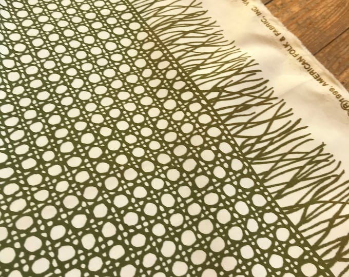 Printed Lattice in Olive