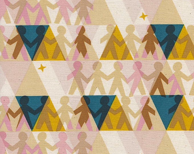 Paper People in Sunshine -Paper Cuts -Rashida Coleman-Hale for Cotton + Steel