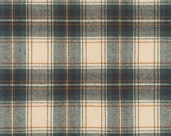 Tahoe Flannel in Desert Green by Robert Kaufman
