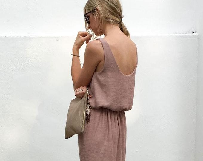 basics DRESS paper Pattern by Cali Faye