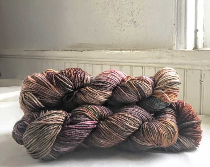 Farmhouse DK in Boho Romance by Valhalla Farm Fiber