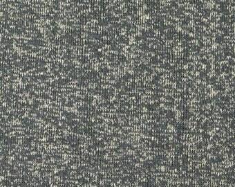 Hemp/Organic Cotton Yarn Dyed Jersey in Storm by Pickering
