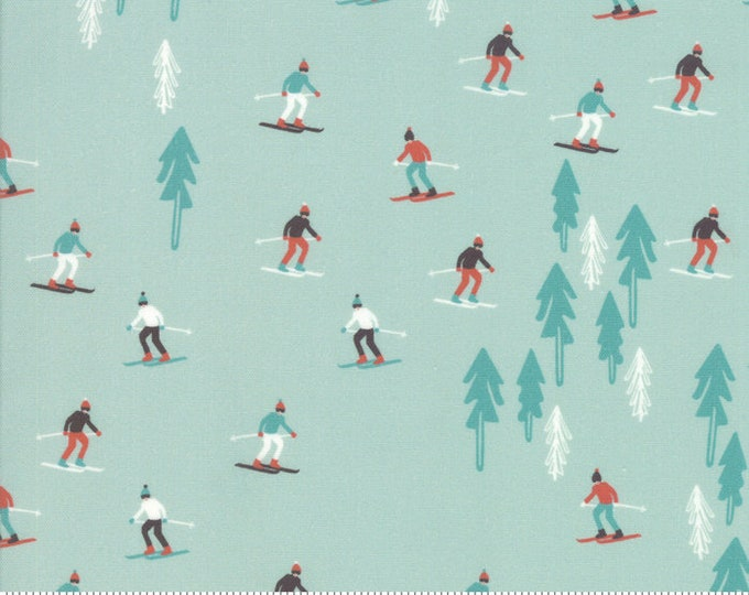 Ski Slope in Alpine from the Tahoe Ski Week Collection by Moda