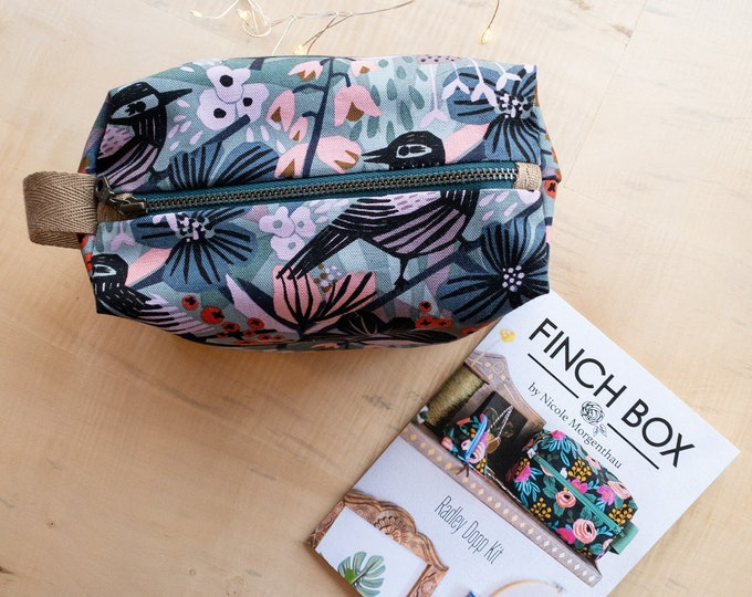 The Radley Dopp Kit - Kit! By Finch Box Featuring the Cloud 9 Under One Sun Collection