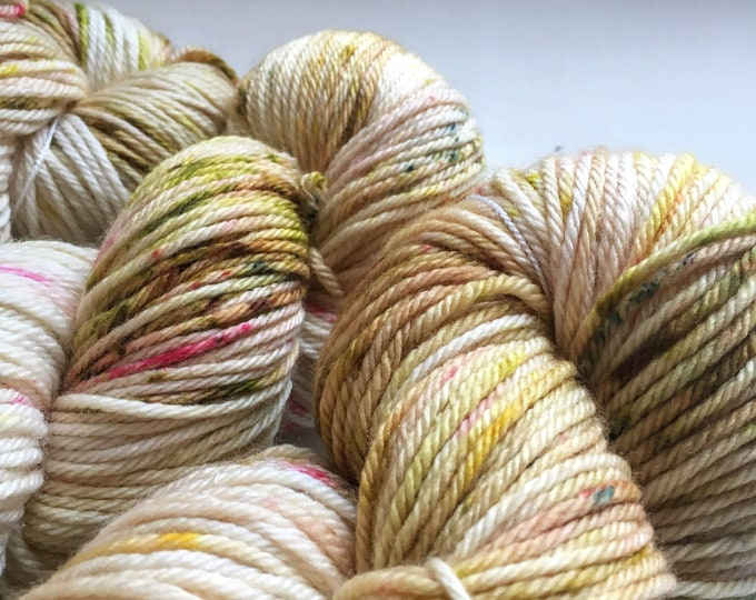 Farmhouse WORSTED in Pressed Flowers by Valhalla Farm Fiber