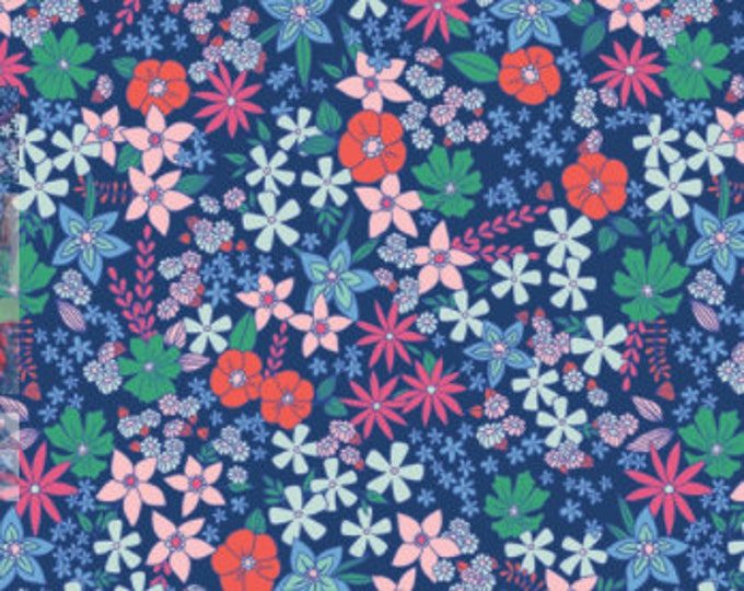 Wildflower Fields from the Flowerette Collection by Art Gallery Fabrics
