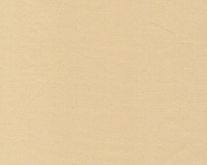 Cirrus Solids in Sand - 100% Organic Cotton by Cloud 9