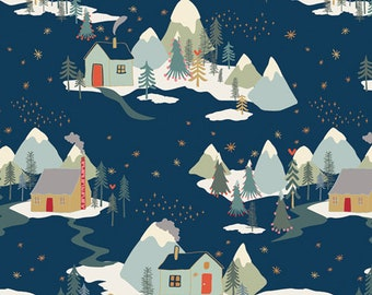 Winter Wonderland  from the Cozy & Joyful  Collection designed by Maureen Cracknell for AGF