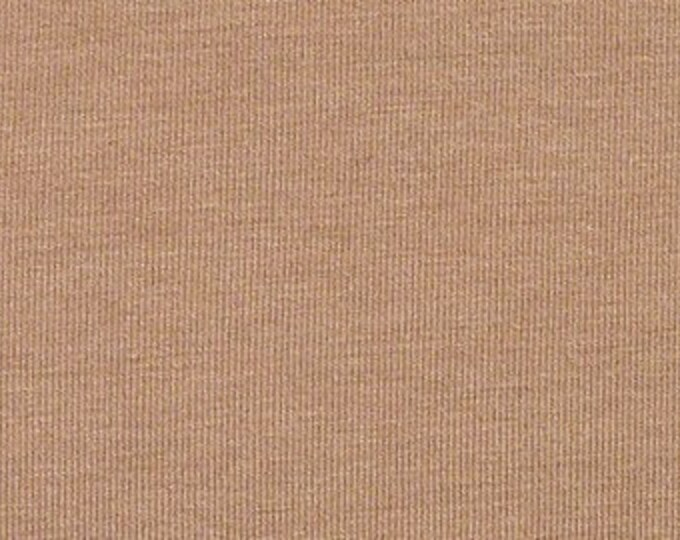 Soy + Organic Cotton Spandex Jersey in Ginger by Pickering