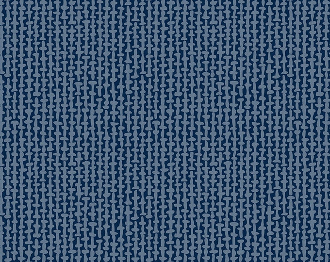 Tweed in Navy from the Smol Collection by Kimberly Kight for Ruby Star Society by Moda Fabrics Fabrics