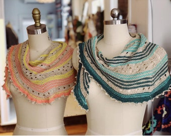 The Shenandoah Shawl Project Kit by The Finch Box