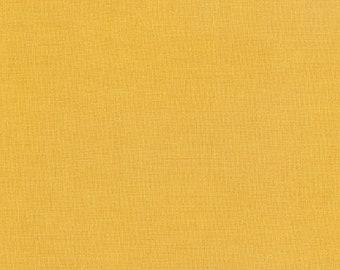 Kona Cotton in Curry by Robert Kaufman