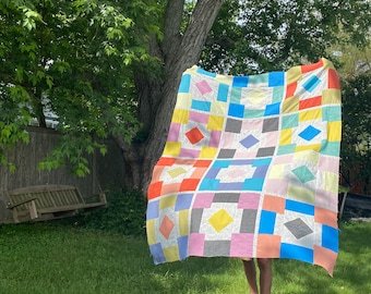Quilt Kit: Backyard Party Quilt by Then Came June