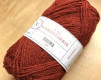 2 Ply Gammelserie in Rust by Rauma