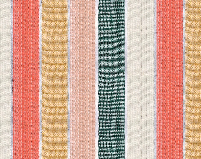 PRE-ORDER: Jubilee in Holiday Stripe from the Candlelight Wovens Collection from Ruby Star Society