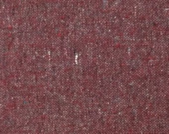 Hemp/Organic Cotton Lightweight Duck 8oz. in Garnet by Pickering