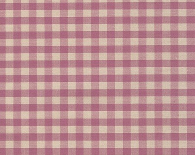 Crawford Gingham in Violet by Robert Kaufman