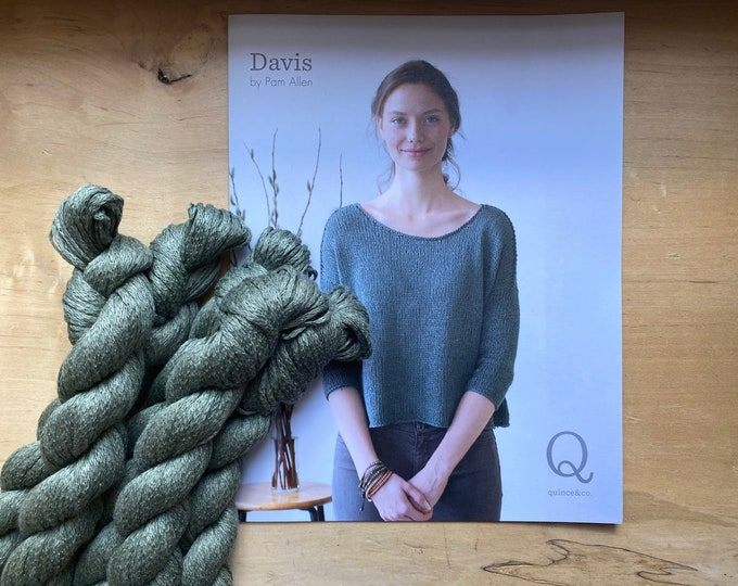 Knit Kit: Davis Top by Pam Allen for Quince and Co.