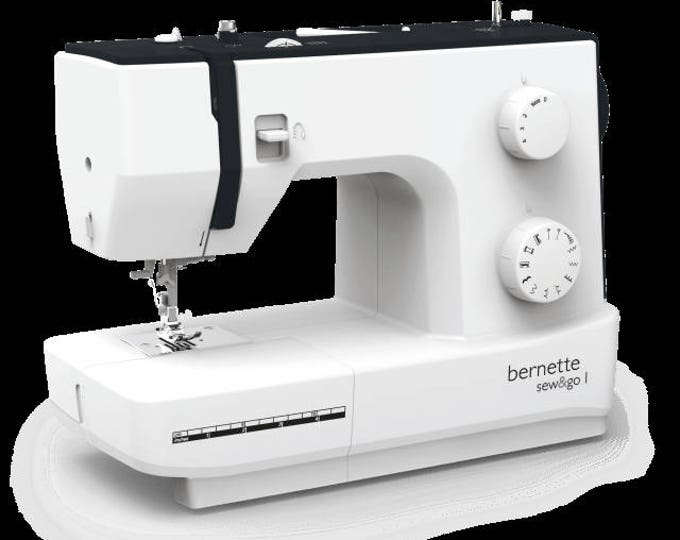 PRE ORDER: NEW Bernette sew&go1 Sewing Machine