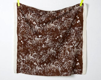 Nani Iro - Lei Nani in Brown 100% Cotton Double Gauze