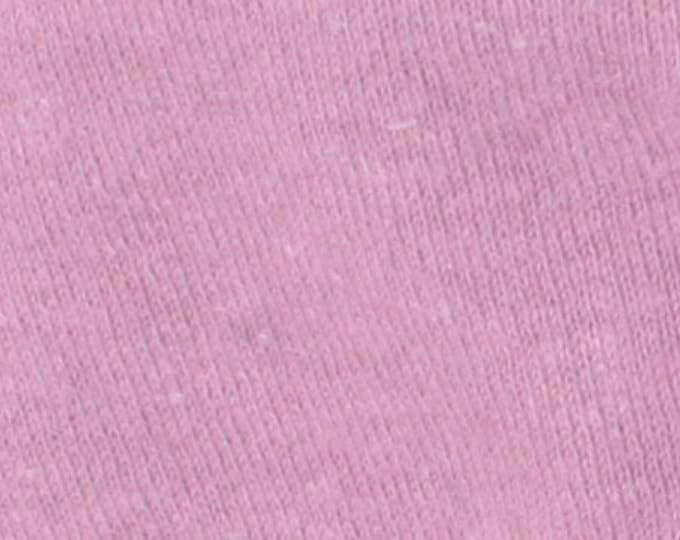 Eco Fleece Hemp Cotton Blend in Cassis