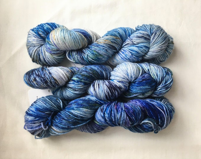 Farmhouse DK in Singin' the Blues by Valhalla Farm Fiber