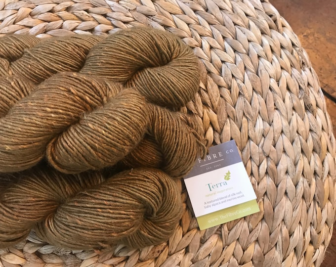 Terra in Iron - Aran Weight - Alpaca/Wool/Silk - The FIBRE Co.