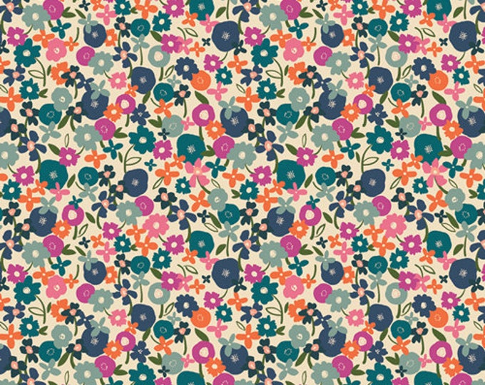 Posy Morning Light from the Trouvaile Collection by Art Gallery Fabrics