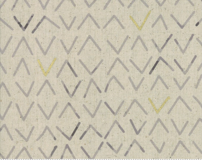 Frost in Linen Charcoal from the Chill Mochi Collection by Moda Fabrics