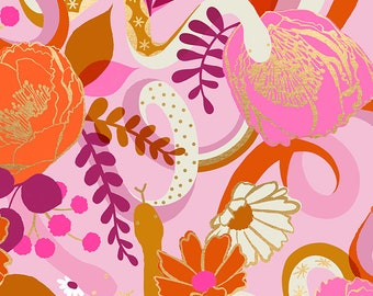 Dream in Peony from the Rise Collection by Melody Miller for Ruby Star Society by Moda Fabrics