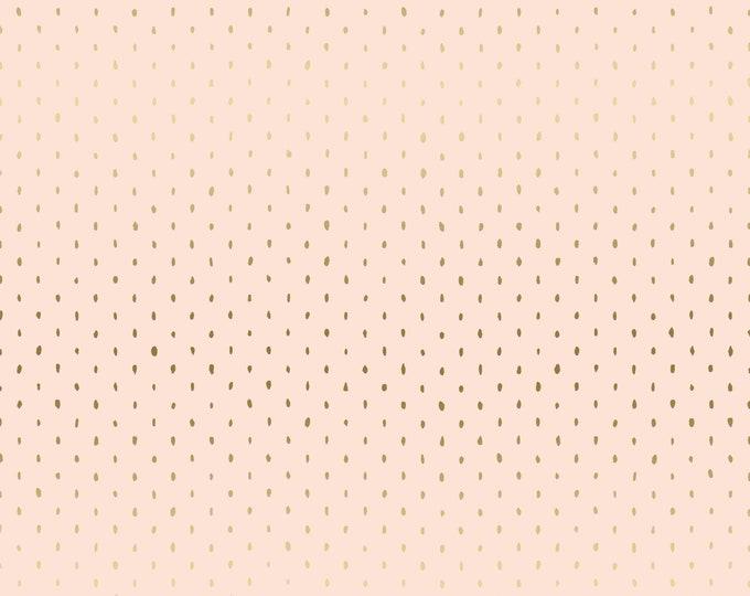 Stitch + Repeat in Blush METALLIC for Cotton + Steel Basics