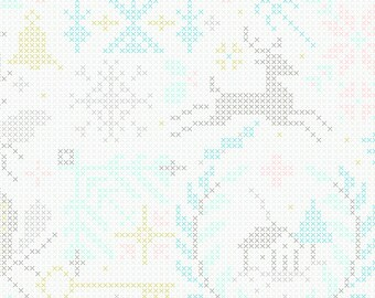 Crossed in Snowflake - Alison Glass Holiday 2019