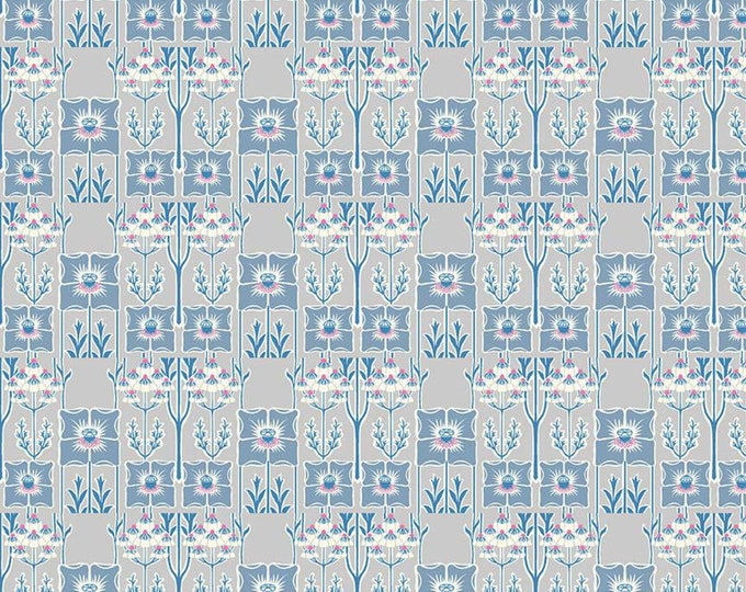 Noueveau Poppy from the Deco Dance Collection by Liberty Fabrics for Riley Blake Designs
