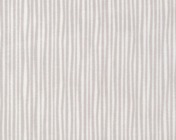 Straws in Gray FLANNEL from the Northerly Collection by Cloud 9 Fabrics