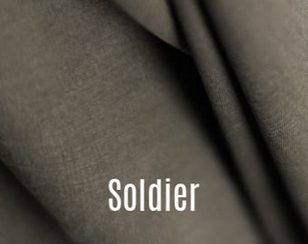 Tencel Twill in Soldier by Merchant and Mills