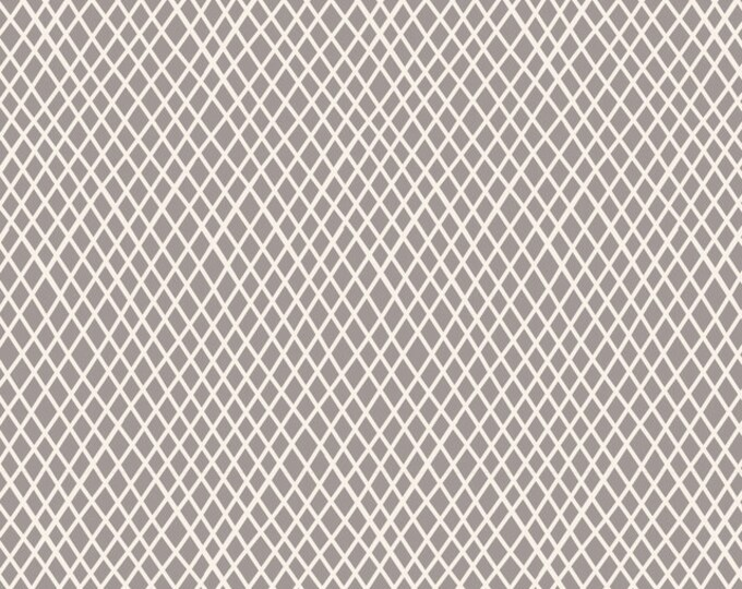 Crisscross in GREY by Tilda Fabrics