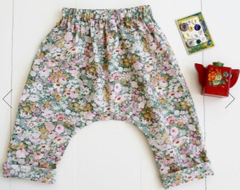 Baby + Toddler Harem Pants Paper Sewing Pattern by Wiksten