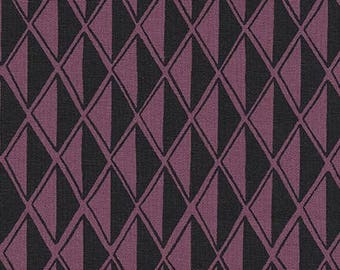 Diamonds in Plum- Arroyo by Erin Dollar for Robert Kaufman